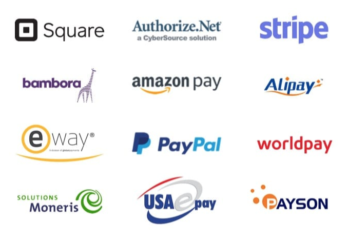 86+ Payment Gateways Support Screenshot